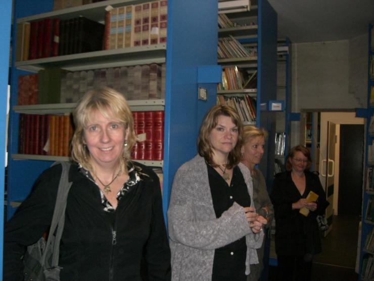 2008.06 le 12 ARRAS médiathèque avec Sorj Chalandon (21)