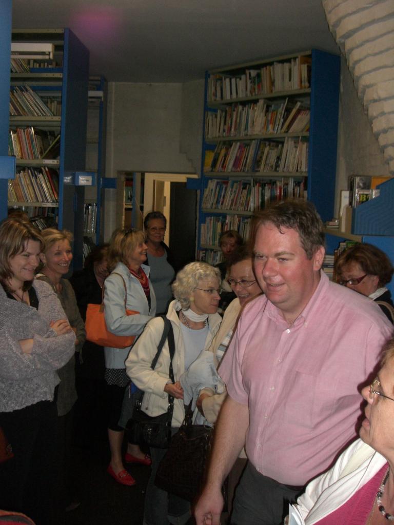 2008.06 le 12 ARRAS médiathèque avec Sorj Chalandon (22)