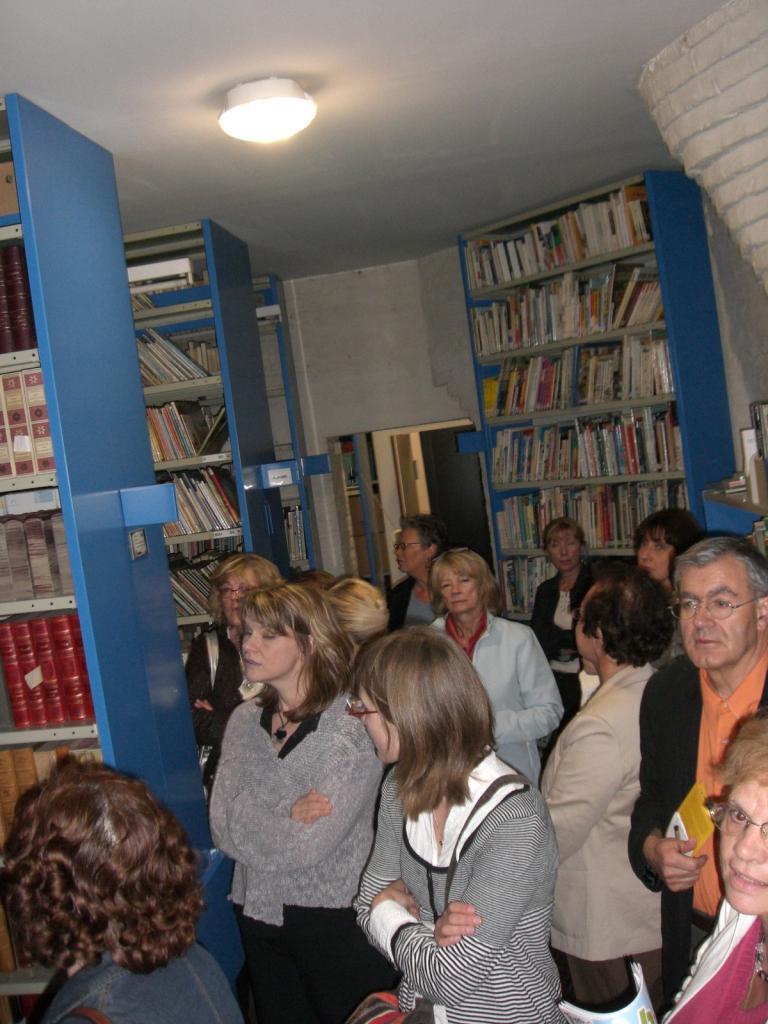 2008.06 le 12 ARRAS médiathèque avec Sorj Chalandon (23)