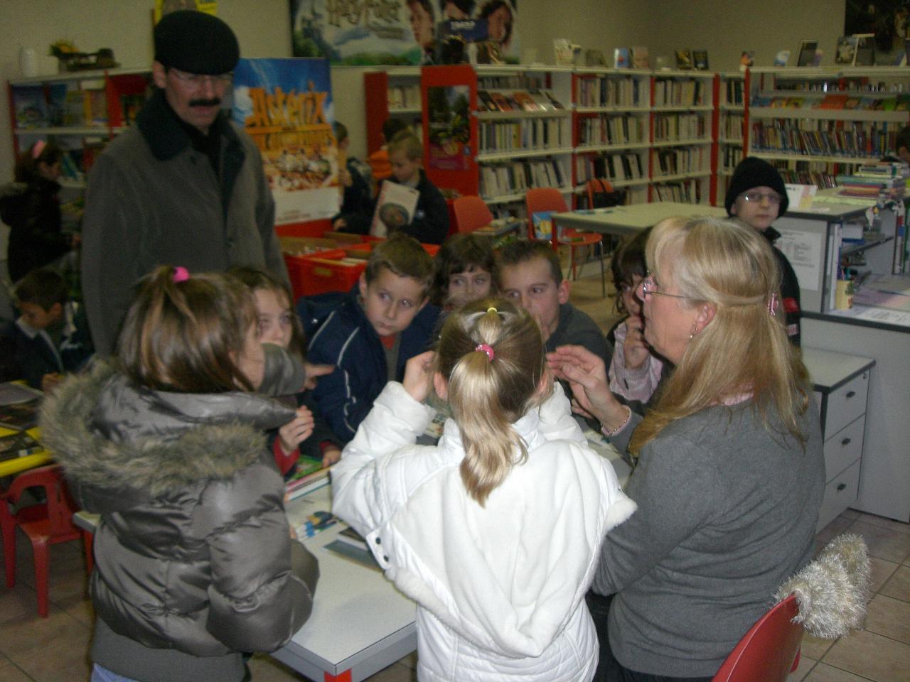 2008.11 le 18 Enfants de l'Ecole à la Bibi le mardi (1)