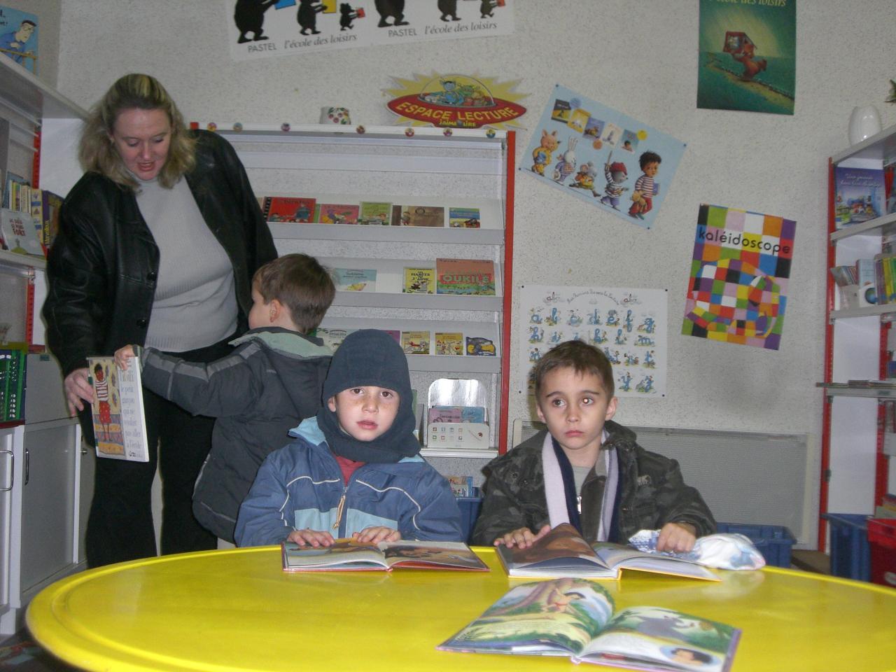 2008.11 le 18 Enfants de l'Ecole à la Bibi le mardi (17)