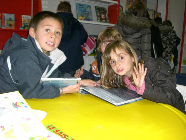 2008.11 le 18 Enfants de l'Ecole à la Bibi le mardi (18)