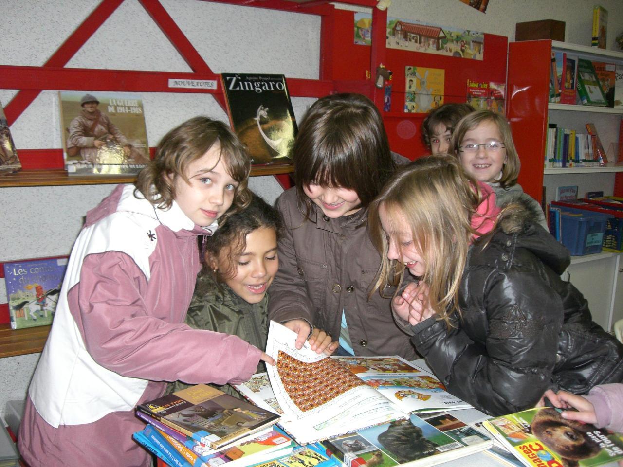 2008.11 le 18 Enfants de l'Ecole à la Bibi le mardi (6)