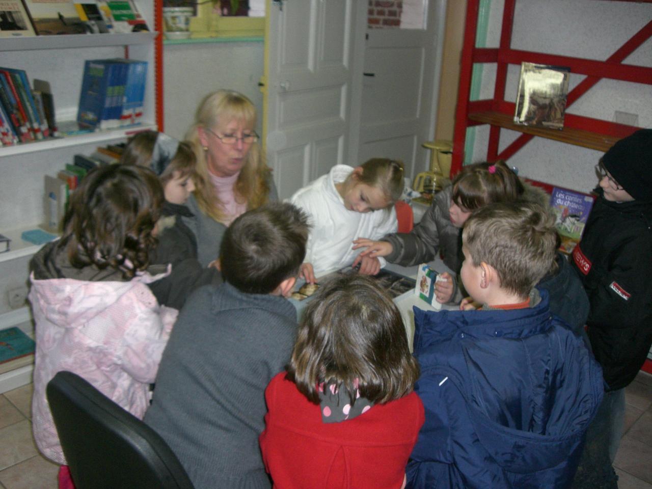 2008.11 le 18 Enfants de l'Ecole à la Bibi le mardi