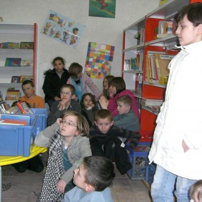 2008 Novembre - L'école et la Bibliothèque