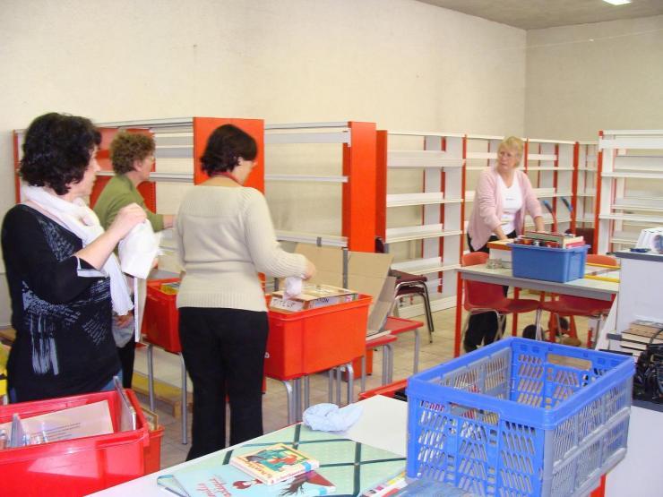 2009.03 LE 17 BIB  déménagement