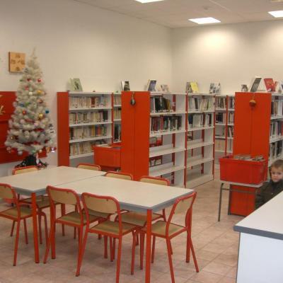 2009 Mars - La Bibliothèque en travaux