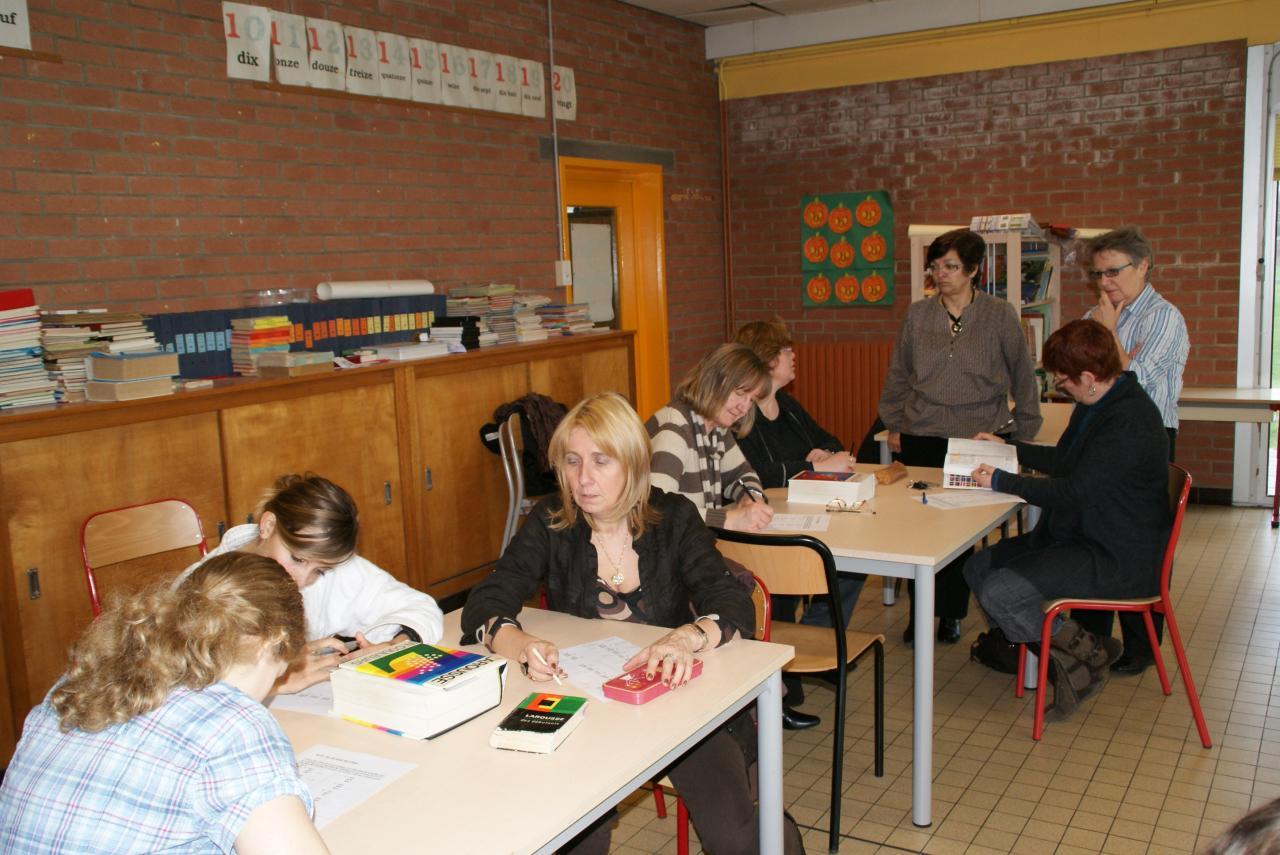 2010.03 le 27 atelier écriture avec Michèle D.