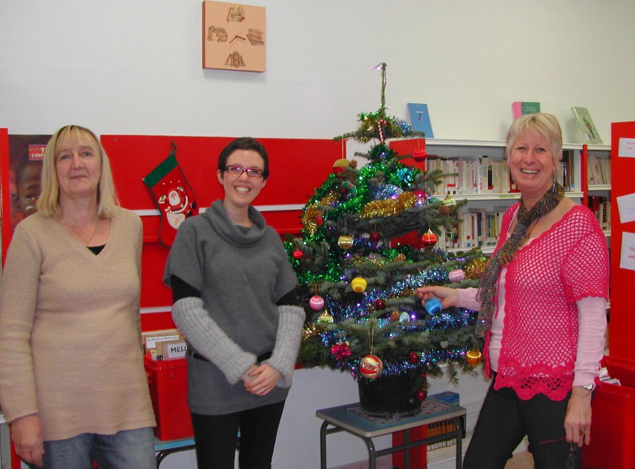 2011.12 le 13 bibliothécaires à Nöel (1)