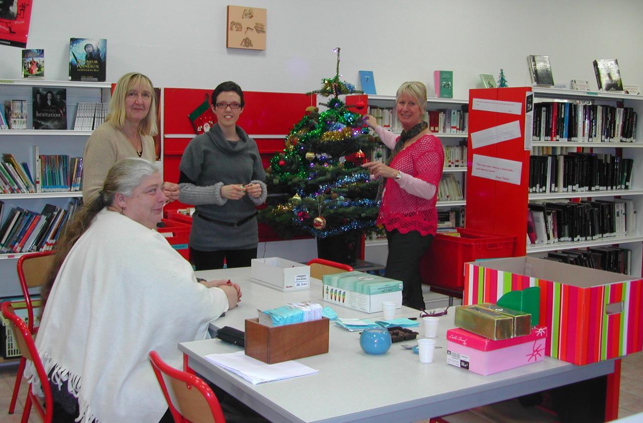2011.12 le 13 bibliothécaires à Nöel