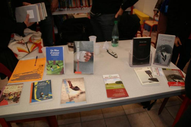 Les ouvrages mis à la vente