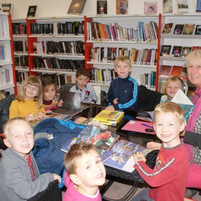 2013 Novembre - Rentrée Bibliothèque des écoles
