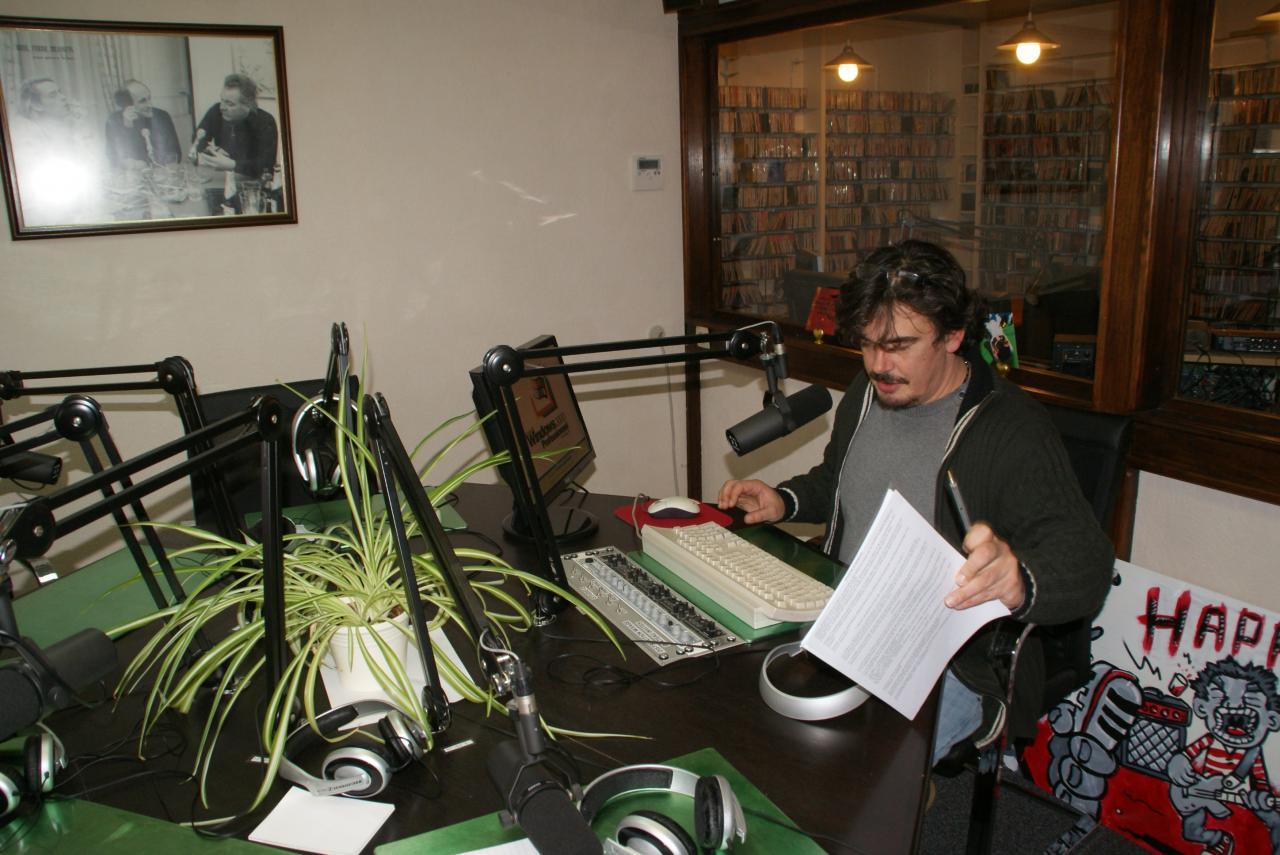 Hervé Dujardin, notre intervieweur