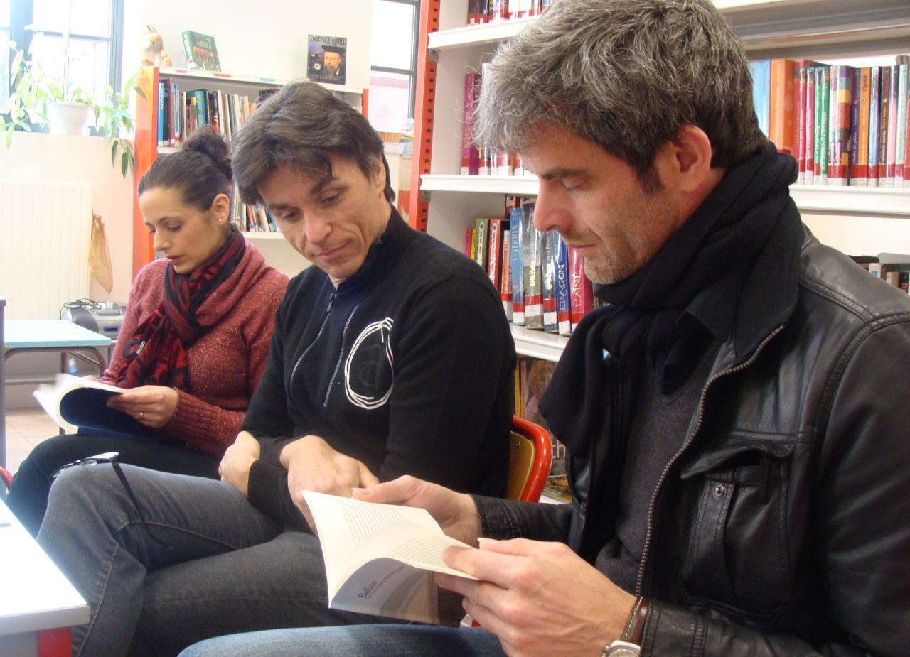 """Sylvain lit un passage qu'il a écrit dans """"Balise"""""""