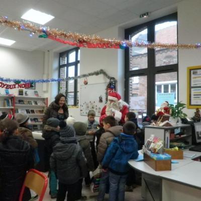2014 Décembre - Visite du Père Noël