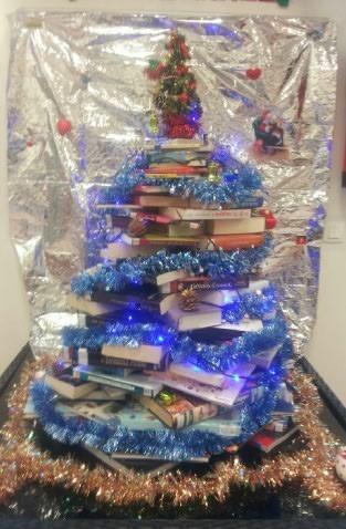 2015-12-09 Sapin de Noël en Livres