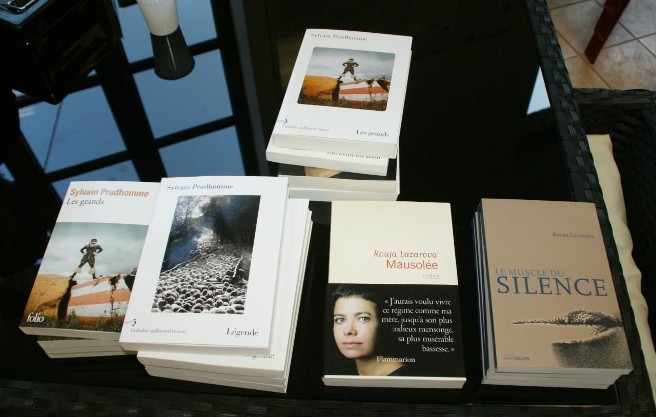 2016.10 le 15 Café littéraire  (1)