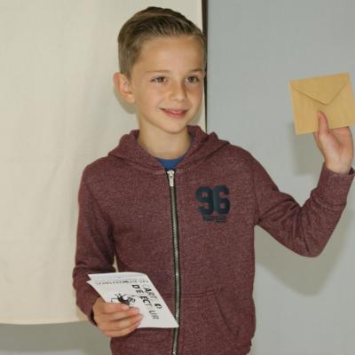 2017 Mai - Vote des Élèves de l'école Suzanne Lanoy