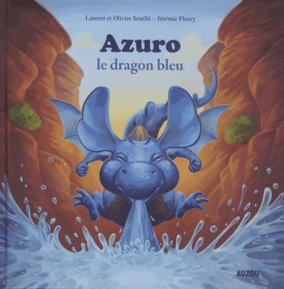 Azuro la dragon bleu