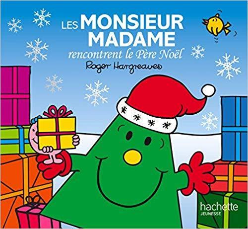 Monsieur madame encontrent le pere noel