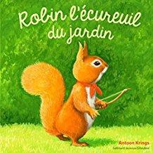 Robin l ecureuil du jardin 1